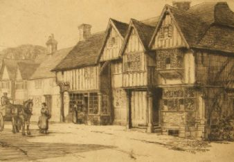 Reginald Green;  'Chiddingstone, Kent'